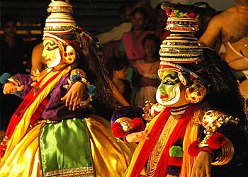 All about Traditional Indian Dance-KATHAKALI - Borsig11