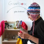 Die Borsig11 Givebox ist eröffnet. Foto: Sabitha Saul