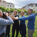 Neue Währung am Borsigplatz: CHANCEN können in künstlerische Stadtviertelprojekte investiert werden.