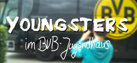 YOUNGSTERS clip: Reporter im BVB Jugendhaus