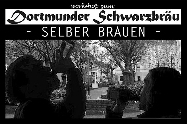 Dortmunder Schwarzbräu selber brauen. Foto: Frank Bölter