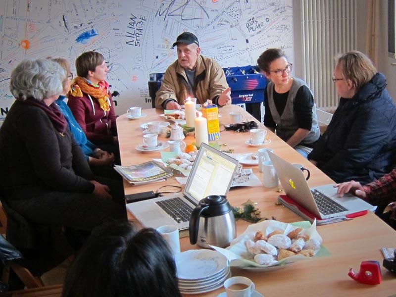Neue Ideen, neue Chancen. Anventscafé mit Borsig11