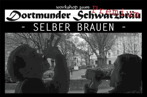 Dortmunder Schwarzbräu Premium – selber brauen. Foto: Frank Bölter