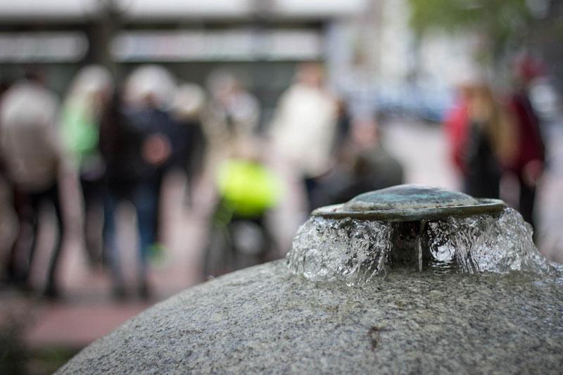 Ein ruhiger Ort in der City. Foto: Jullian Has