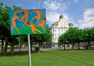 Aktion Matisse. Foto: Borsig11