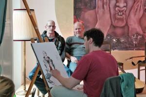 Viktor Sternemann bei der Arbeit. Foto: Guido Meincke / Borsig11