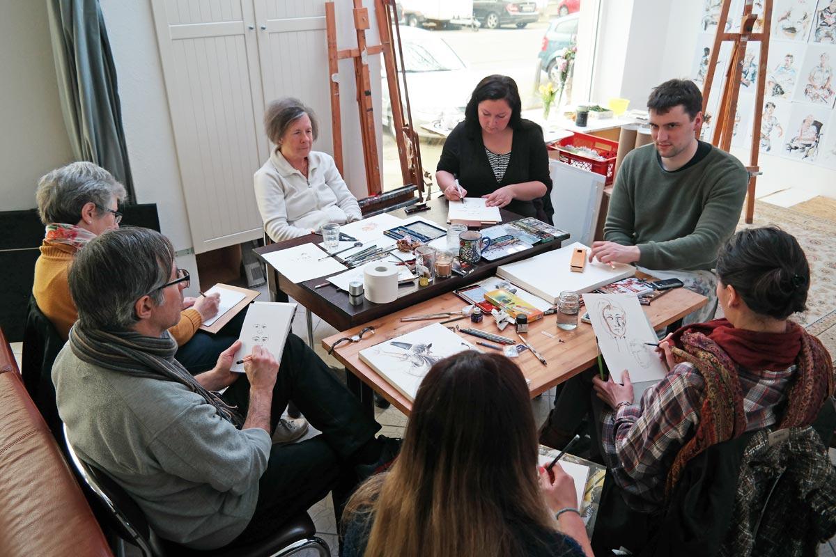 Offenes Atelier 103. Foto: Guido Meincke / Borsig11