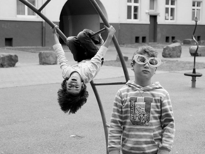 Ein Kinderspiel. Leben in der Dortmunder Nordstadt. Foto: Gabriele Wirths