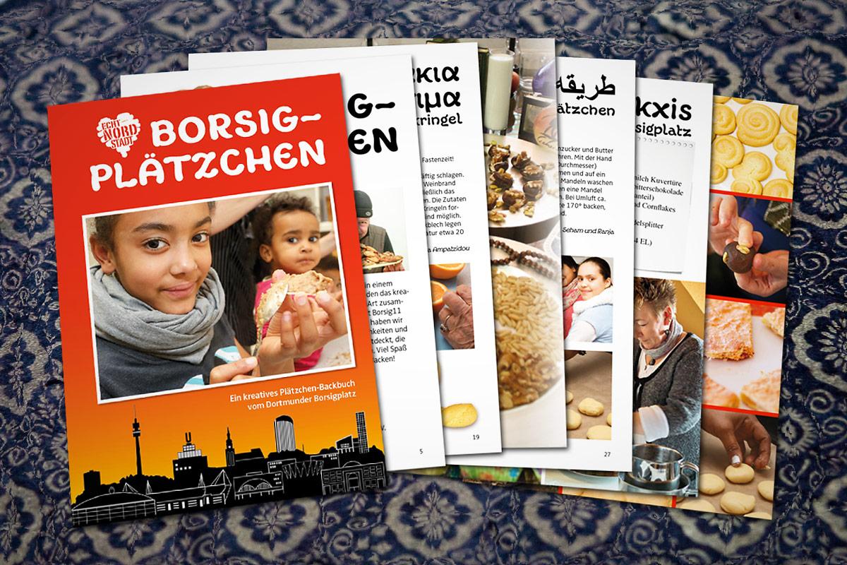 Vorschau Backbuch Borsigplätzchen